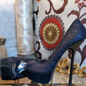 Beautiful SEXY Lace Heels